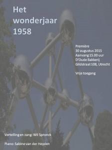 het wonderjaar 1958 - uitnodiging V4